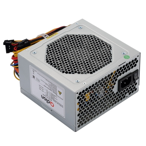 БЛОК ПИТАНИЯ QD400 ATX QD400 non 80+ , 350W real, 12cm Fan 24+4pin, CPU4+4,PCI-E 6pin,3*sata,2*molex,1*fdd pin, input 230V, I/O switch, with 1.2M power cord OEM {10}