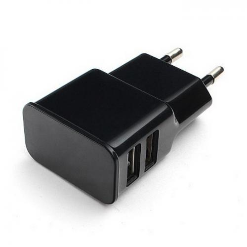 Блок питания Cablexpert MP3A-PC-12, Black, 5V, 2.1A, Разъемы 2* USB Af,  рекомендовано для Raspberry Pi 3 B/B+