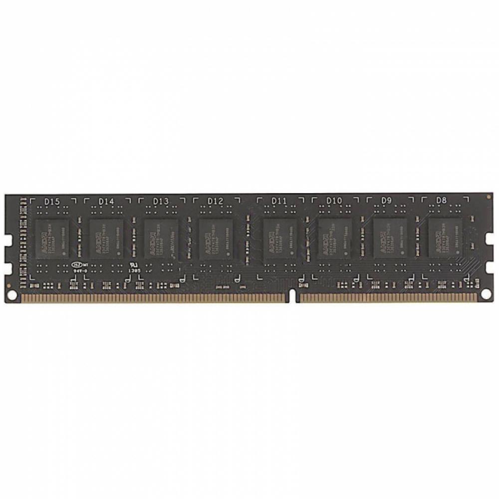 4GB AMD Radeon™ DDR3 1600 DIMM R3 Value Series Black R534G1601U1S-UO Non-ECC, CL11, 1.5V, Bulk (180053)