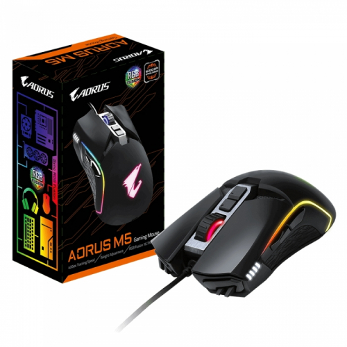 AORUS M5/USB MICE/IR/BK GM-AORUS M5